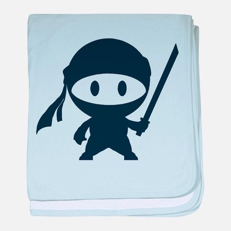 Ninja baby blanket