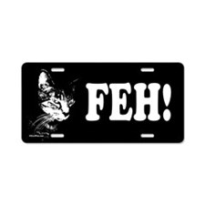 Pookie Feh! Aluminum License Plate