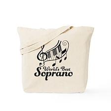 Soprano (Worlds Best) Tote Bag