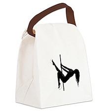 pole dancer 4 Canvas Lunch Bag