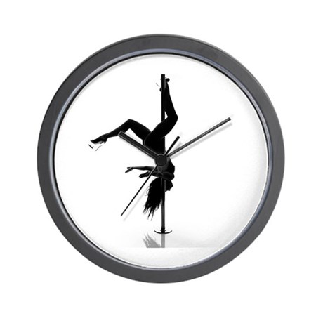 pole dancer 5 Wall Clock
