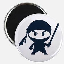 Angry ninja Magnet