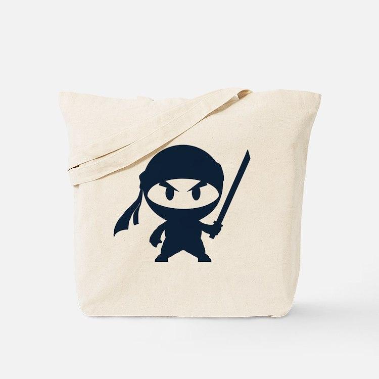 Angry ninja Tote Bag