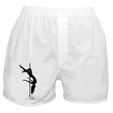 pole dancer 3 Boxer Shorts