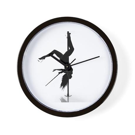 pole dancer 5 Wall Clock