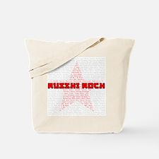 Russian Rock (Ruski Rock) Tote Bag