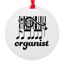 Organist Music Gift Ornament