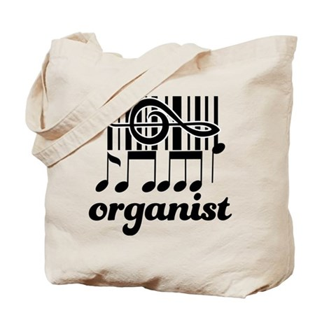 Organist Music Gift Tote Bag