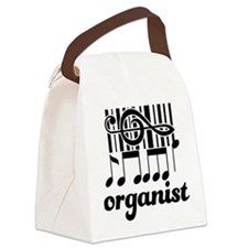 Organist Music Gift Canvas Lunch Bag