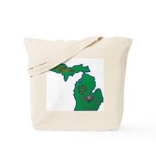 Michigan Trapper Logo Tote Bag