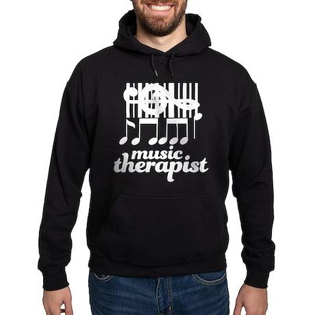 Music Therapist Gift Hoodie (dark)