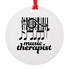 Music Therapist Gift Ornament