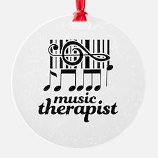 Music Therapist Gift Ornament