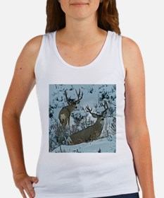Bucks in snow 2 Women's Tank Top