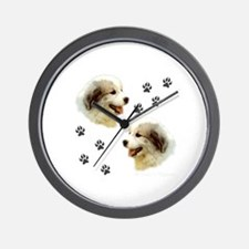 Puppy Paws<br>Wall Clock