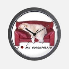 I Love My Couchpotato<br>Wall Clock