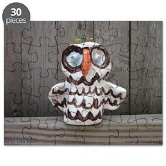 Ceramic Owl by Lisa Kobis. Puzzle
