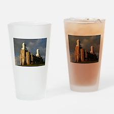 Logan temple Pint Glass