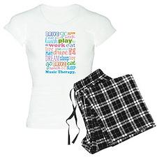 Music Therapy Colorful pajamas