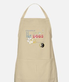 People who dont like dogs Apron