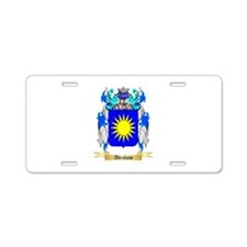 Abraham Aluminum License Plate