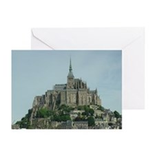 Mont Saint Michel Greeting Cards (Pk of 10)