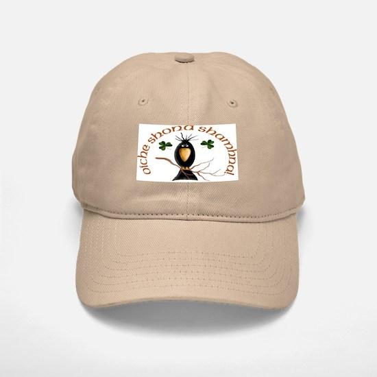 Gaelic Black Crow Baseball Baseball Cap
