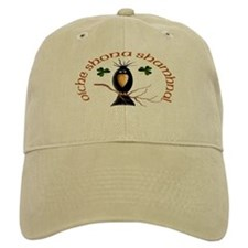 Gaelic Black Crow Baseball Cap