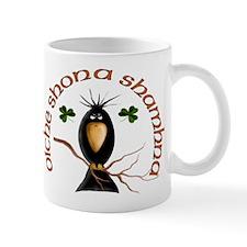 Gaelic Black Crow Mug
