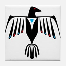 Native American Thunderbird Tile Coaster
