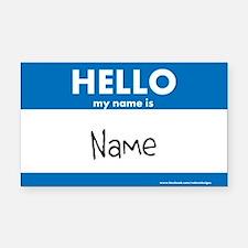 Name Your Car Bumper Sticker