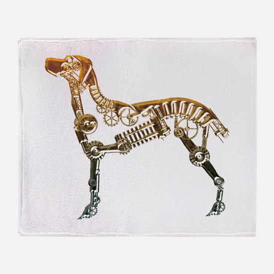 Industrial dog Throw Blanket