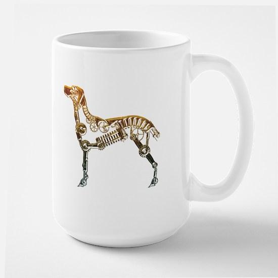 Industrial dog Large Mug