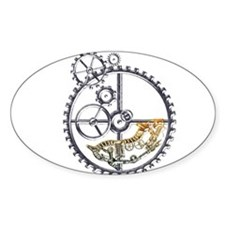Industrial Hamster in a wheel Decal