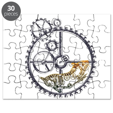 Industrial Hamster in a wheel Puzzle