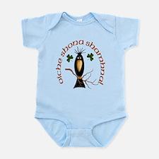 Gaelic Black Crow Infant Bodysuit