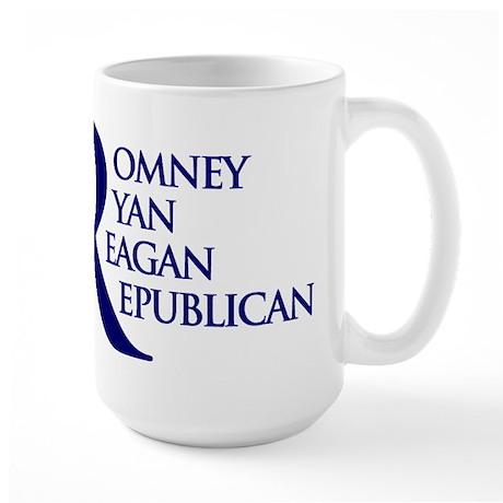 R4 Romney 2012 Large Mug