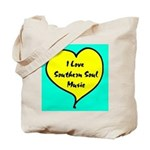 W01 Tote Bag, I Love Southern Soul Music (HEART)