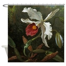 Cattleya Orchid Shower Curtain