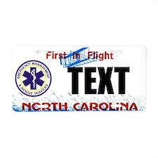 North Carolina EMS Custom License Plate
