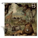 Jungle Shower Curtains