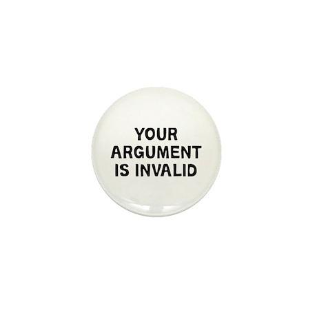 Your Argument Mini Button
