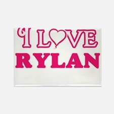 I Love Rylan Magnets