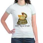 DTOM - Don't Tread on Me! Jr. Ringer T-Shirt
