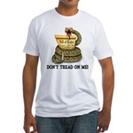 DTOM - Don't Tread on Me! Fitted T-Shirt