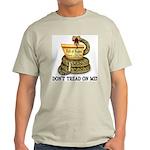 DTOM - Don't Tread on Me! Ash Grey T-Shirt