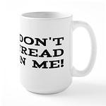 DTOM - Don't Tread on Me! Large Mug