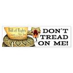 DTOM - Don't Tread on Me! Bumper Sticker