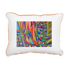 Abstract design by Shirly French. Rectangular Canv