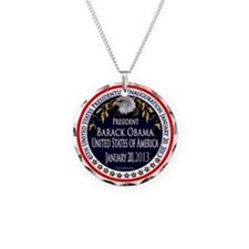 Barack Obama Inauguration 2013 Necklace